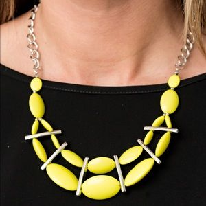 Paparazzi Yellow Necklace